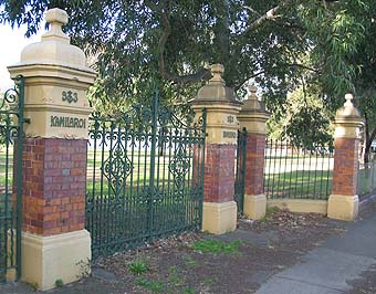 Kamilaroi House Gates